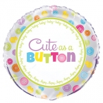 Baby Shower.Cute Button - 45cm - UNI53968
