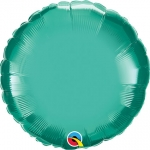 Chrome Round Green - 45cm  - 89590