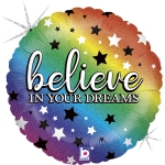Glitter Believe in your Dreams - 46cm - GRA36797
