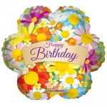 MINI.Flowers Birthday Banner - 27cm - 19709-09