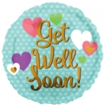 MICRO.Get Well Soon Hearts - 10cm - 35496