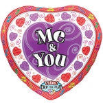 Singing balloon.Me & You - 75cm  - 03501