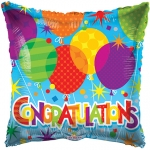 MINI.Congratulations Balloons - 23cm - 15155-09