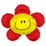 MINI.Smiley Red Flower - 35cm - 34993-14