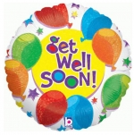MINI.Get Well Soon Balloons - 23cm - 82756