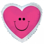 MINI.Pink Smiley Heart - 23cm - 224015