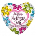 MICRO.Happy Mothers Day Flowers - 10cm - 224022-04
