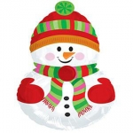 MINI.Snowman with Scarf - 35cm - 424038