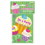 Invitation.Cupcake Party - UN40094