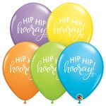 QU.11.Simply Hip Hip Hooray.pastel ast - 25pcs  - 90993