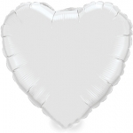 MICRO.heart.white+silver - 10cm  - MD85106-04