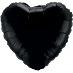 MINI.heart.black - 23cm - MD85065-09