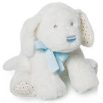 Baby Dog + blue ribbon - 22cm - ART310/1C