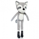 Raccoon with long legs - 40cm - ART302