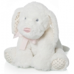 Baby Dog + pink ribbon - 22cm - ART310/1R