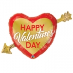 Valentine's Golden Arrow - 100cm - QU97212