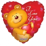 Jumbo.Bear I love You - 90cm  - KA19053-36