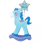 Airwalker.Rocking Horse Blue - 127cm - AN-30711