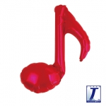 Single music note.red - 23cm - TK-0201910501