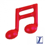 Double music note.red - 23cm - TK-0201910801