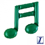 Double music note.green - 23cm - TK-0201910805