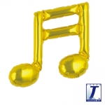 Double music note.gold - 23cm - TK-0201910807