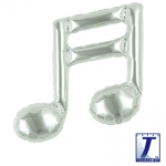 Double music note.silver - 23cm - TK-0201910806