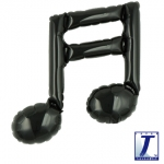 Double music note.black - 23cm - TK-0201910857