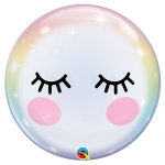 Single bubble.Eyelashes - 55cm - QU-13009