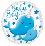 MICRO.Narwhal Baby Boy - 13cm - AN-39650