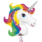 Supershape Rainbow Unicorn - 83cm - AN-31299