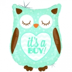 It's a Boy Baby Owl - 66cm  - GR-35158H