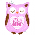 It's a Girl Baby Owl - 66cm  - GR-35156H