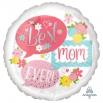 Best Mom Ever - 45cm - AN-37061