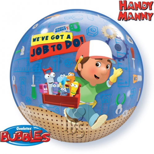 Single bubble.Handy Manny - 55cm
