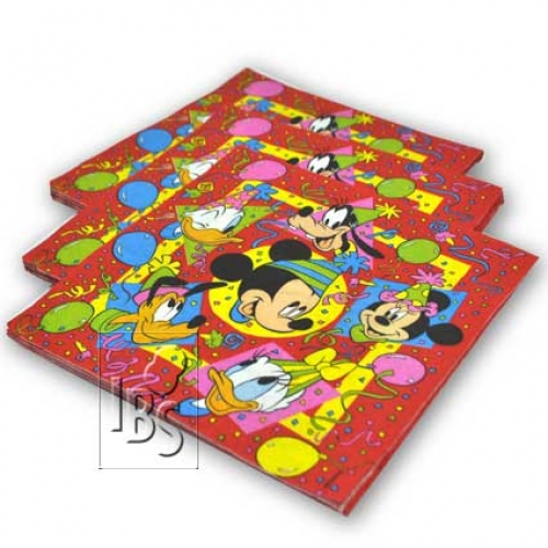 Servietten.Mickey - 20pcs