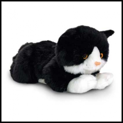 Cat.Smudge Black - 30cm