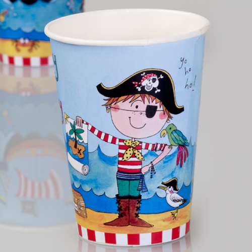 Rachel Ellen.Pirate.cups - 8pcs