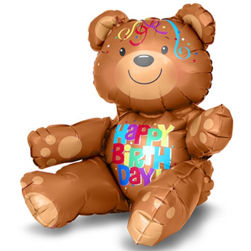 Happy Birthday Bear - 50cm