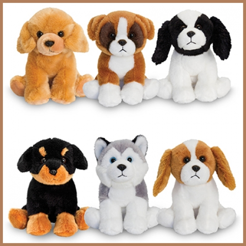 Dog.Sitting.6 Pcs - 16cm