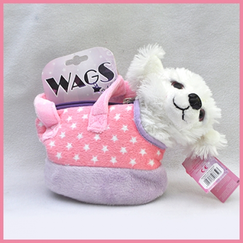 Wags in Bags.4 pcs - 18cm