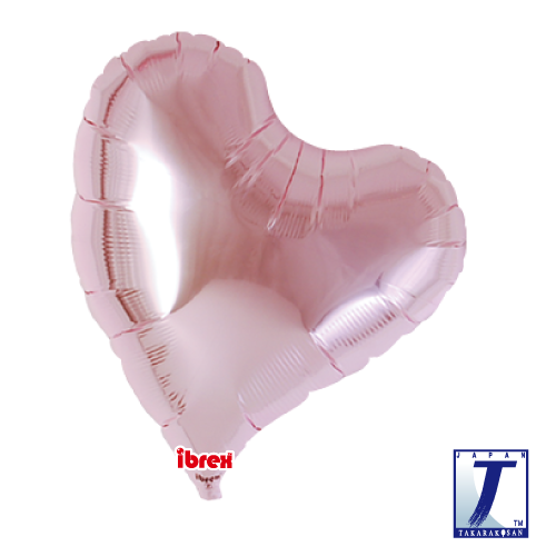 Sweet Heart.metallic light pink - 35cm