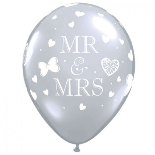 QU.11.Mr & Mrs.diamond clear - 50pcs