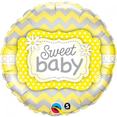 Sweet Baby Yellow Patterns - 45cm
