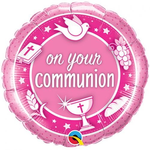 On Your Communion.pink - 45cm