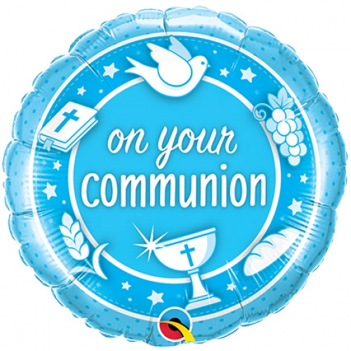 On Your Communion.blue - 45cm