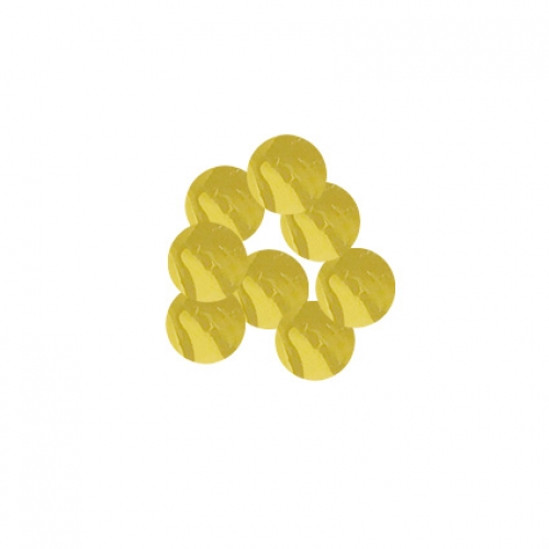 Confetti.metallic gold.10mm - 20gr