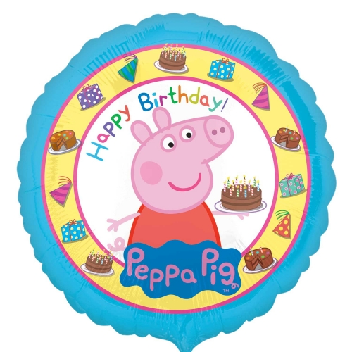 Happy Birthday Peppa Pig - 45cm