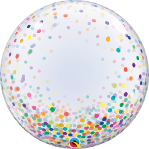 Decobubble.Colorful Confetti Dots - 60cm