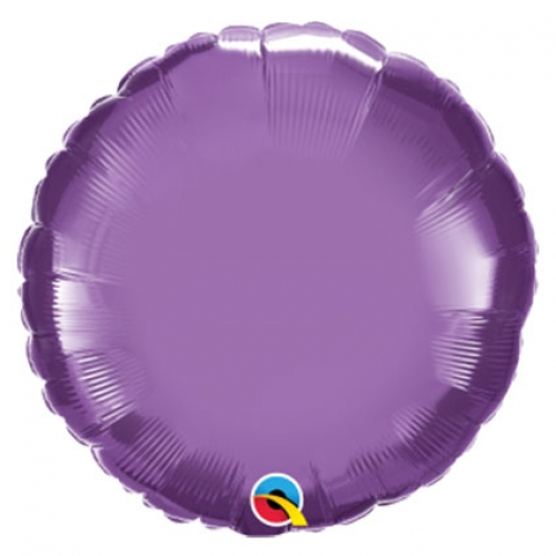 Chrome Round Purple - 45cm